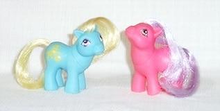 G1 Baby Pony Friend European Exclusive Ponies with Best Friends