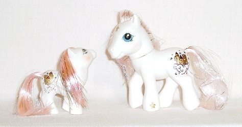 MLP G1 Pony Princess Sparkle G1 Custom