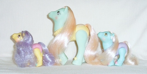 MLP G1 Pony Ballerina Ponies