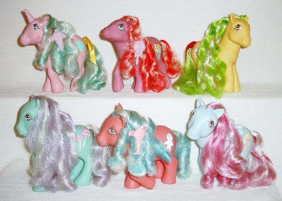 MLP Pony G1 Candy Cane Ponies Set