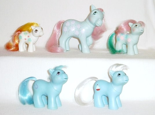 MLP G1 Pony Family Boy Ponies Skipper Lucky