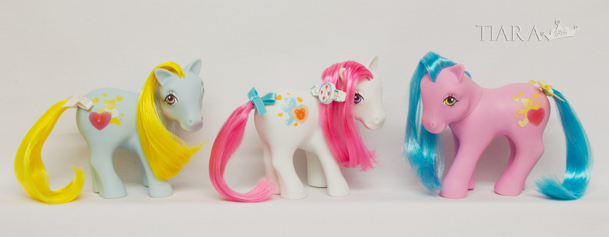 MLP G1 CP Pony UK Exclusive Nurse Ponies