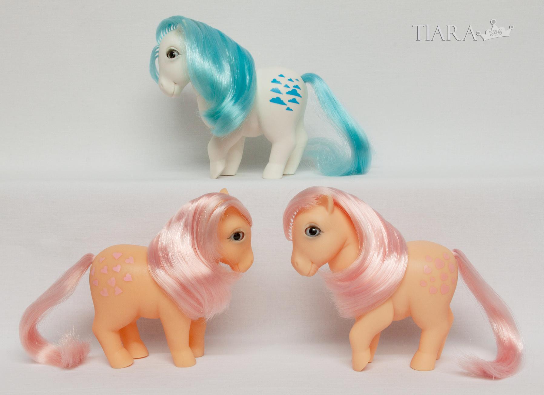 MLP G1 Pony Piggy Peachy Algodoncete Ponies Spanish Spain