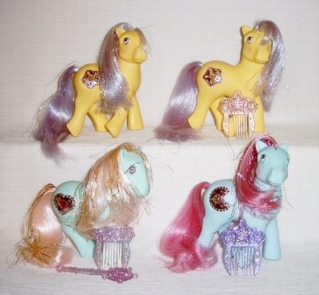 MLP G1 Princess Pony First Series Ponies