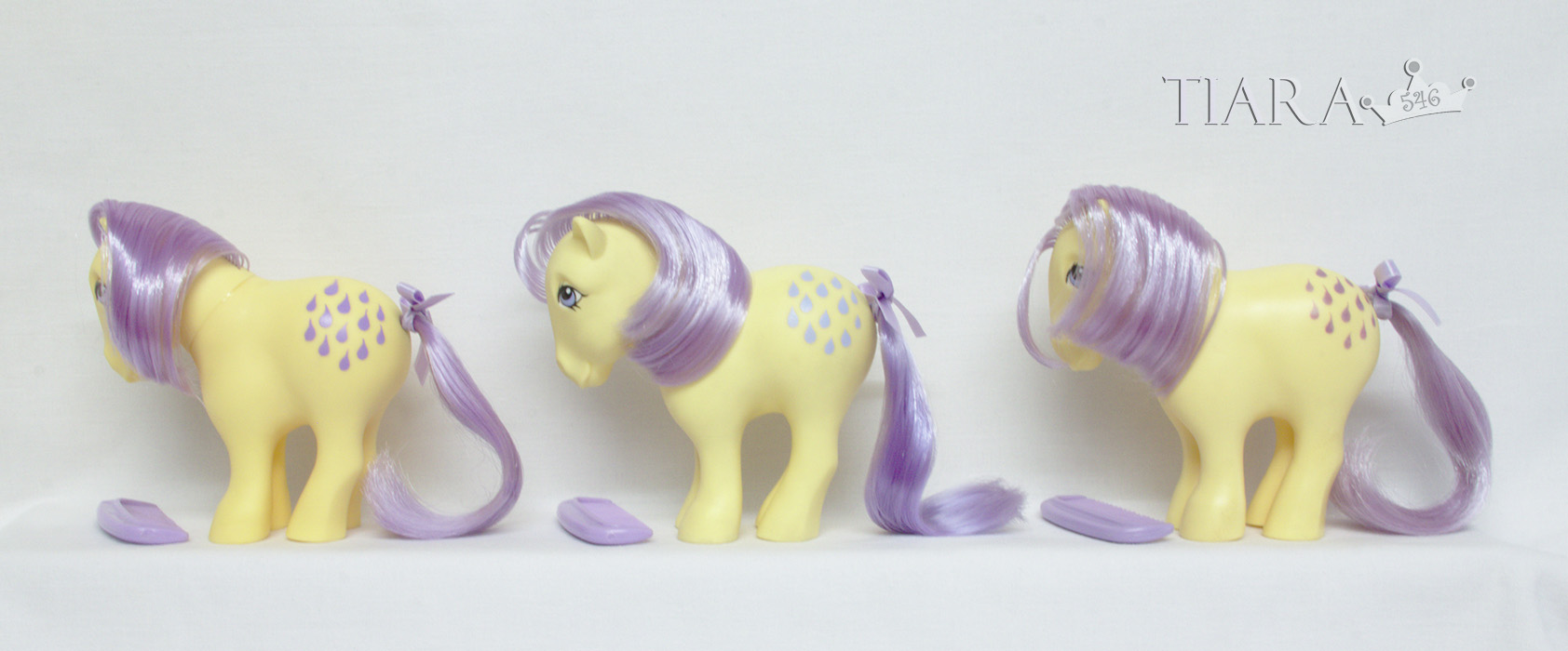 MLP G1 Lemondrop Lemon Drop Variant Ponies US Variants USA
