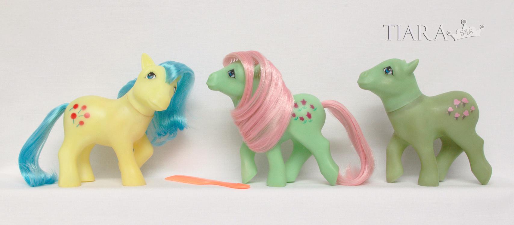 MLP G1 Nirvana Pony Venezuela Ponies Lickety Split Tootsie Squeaker Squeaky Butt