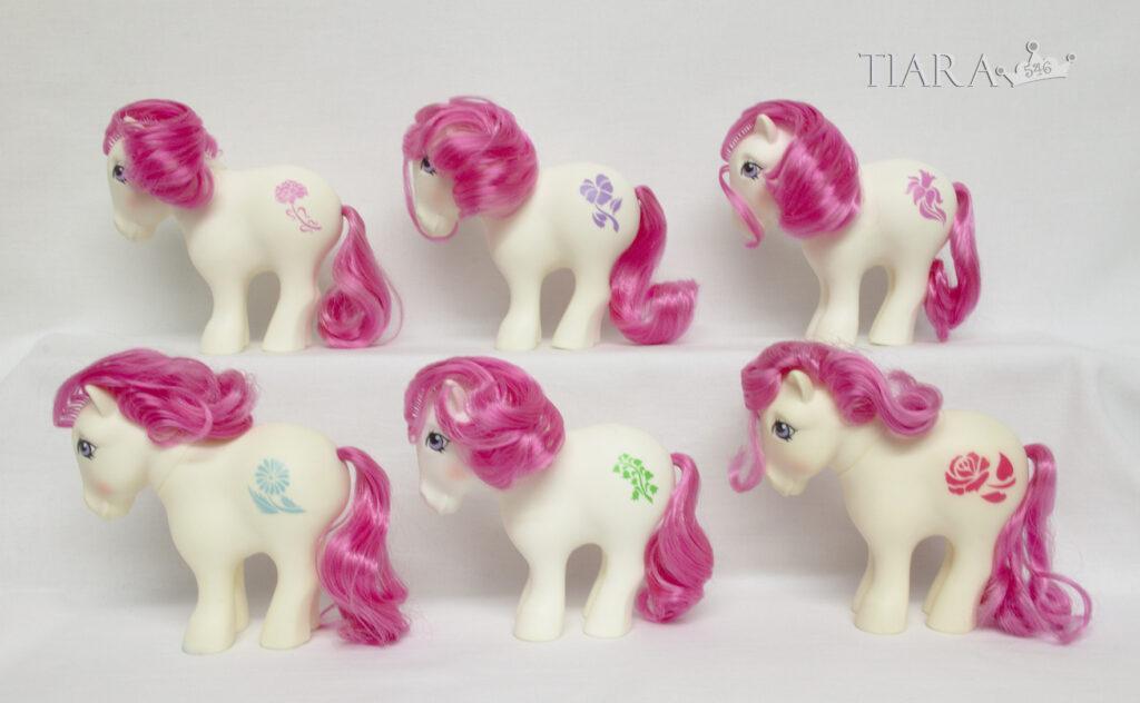 MLP G1 Pony Birthflower Mail Order MO Ponies Part 1