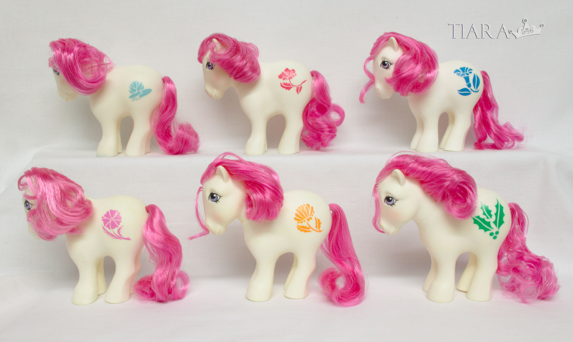 MLP G1 Pony Birthflower Mail Order MO Ponies Part 2