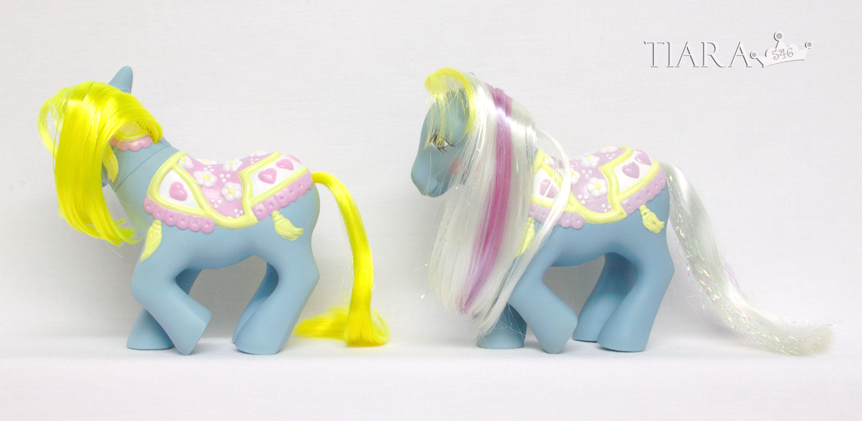 MLP G1 Pony MGR Merry Go Round Ponies Brilliant Blossom Alt Alternate Rehair Custom