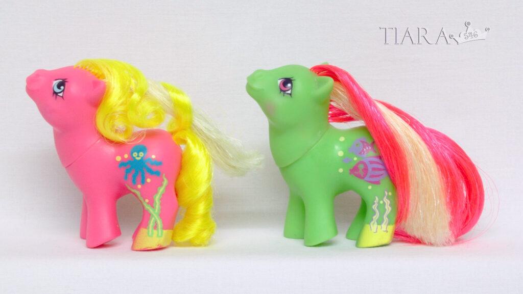MLP G1 Seaside Babies Baby Splosh Splash Ponies