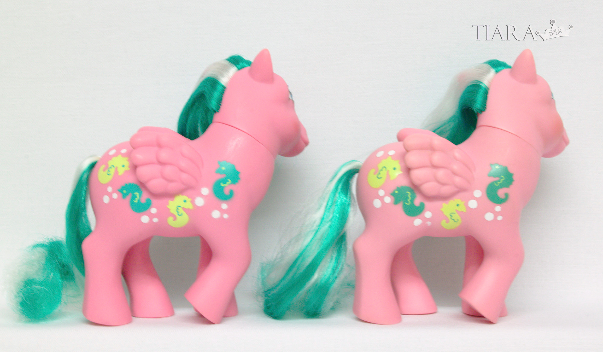 MLP G1 Pony Sunshine Ponies Wave Runner Waverunner Variants