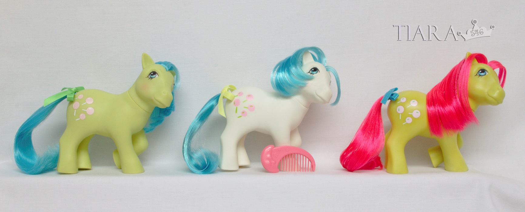 MLP G1 Pony 1984 Earth Ponies Tootsie Variants