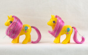 MLP G1 Pony Starlight Baby Ponies Babies Explorer China HK Variants Comparison
